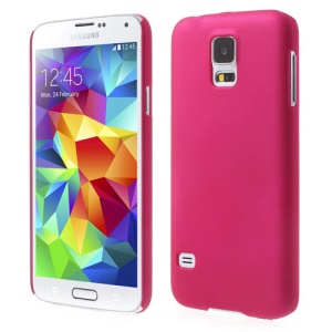 Rose Rubberized Hard PC Cover for Samsung Galaxy S5 G900 GS 5