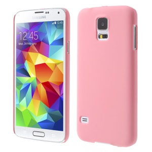 Pink for Samsung Galaxy S5 G900 GS 5 Rubberized Plastic Shell