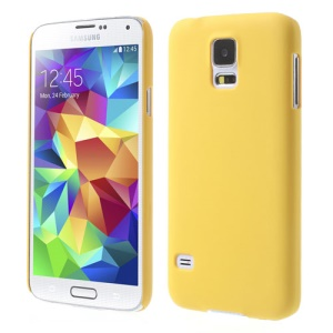 Yellow for Samsung Galaxy S5 G900 GS 5 Rubberized PC Case Accessory