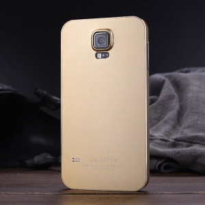 Luphie for Samsung Galaxy S5 G900 Aluminum Bumper Frame Cover Case - Gold