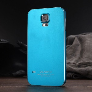 Luphie for Samsung Galaxy S5 G900 Aluminum Bumper Frame Cover Case - Blue