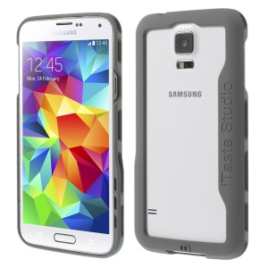iTaste Studio Plastic Bumper Frame Case for Samsung Galaxy S5 G900 - Gray