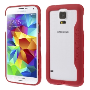 iTaste Studio Plastic Bumper Frame Cover for Samsung Galaxy S5 G900 - Red