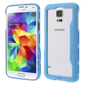 iTaste Studio Plastic Bumper Backless Cover for Samsung Galaxy S5 G900 - Blue