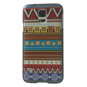 Tribal Circles & Stripes Hard PC Cover for Samsung Galaxy S5 G900