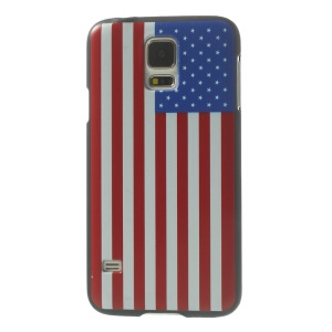 US The Old Glory Plastic Hard Case Accessory for Samsung Galaxy S5 G900