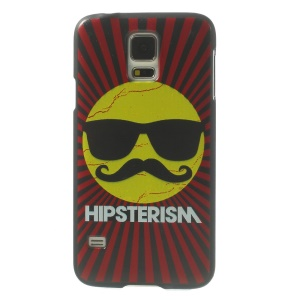 Hipsterism Cool Sun Hard Shield Case for Samsung Galaxy S5 G900