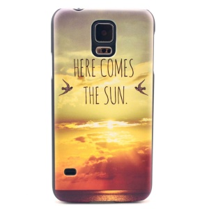 Two Birds in the Sunset Hard Case Cover for Samsung Galaxy S5 G900