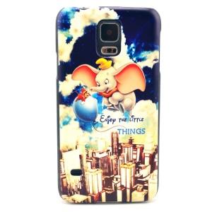 Cute Cartoon Elephant Hard Cover Case for Samsung Galaxy S5 G900