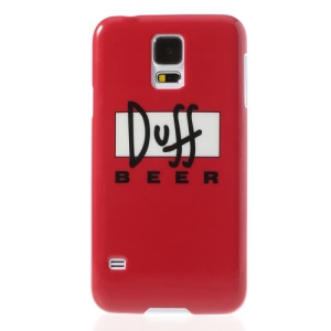 Duff Beer Glossy Hard Case Shell for Samsung Galaxy S5 G900