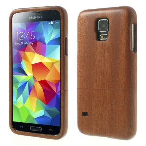 For Samsung Galaxy S5 G900 G900H Real Wood Wooden 2 in 1 Hard Cover