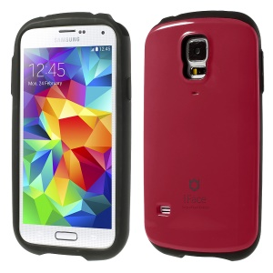 Superb iFace PC & TPU Hybrid Cover for Samsung Galaxy S5 SV G900 - Magenta