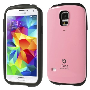 Superb iFace for Samsung Galaxy S5 G900 PC & TPU Hybrid Phone Case - Pink