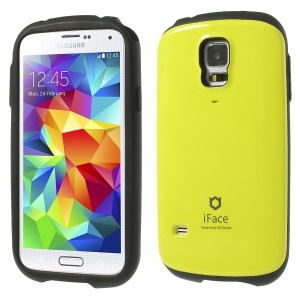 Superb iFace Hybrid PC & TPU Combo Case for Samsung Galaxy S5 G900 - Yellow
