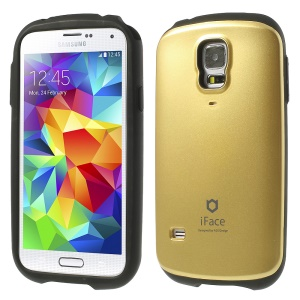 Superb iFace PC & TPU Combo Shell for Samsung Galaxy S5 G900 - Champagne Gold
