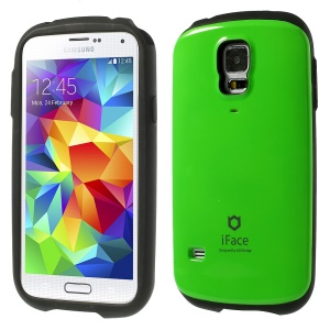 Superb iFace PC & TPU Hybrid Protector Case for Samsung Galaxy S5 G900 - Green
