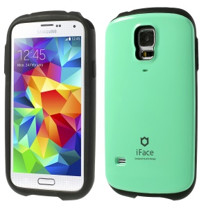 Superb iFace PC & TPU Hybrid Cover Shield for Samsung Galaxy S5 G900 - Cyan
