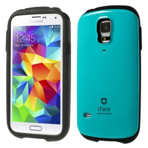Superb iFace PC & TPU Hybrid Shell Case for Samsung Galaxy S5 G900 - Blue