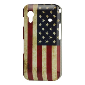 Retro USA American Flag Hard Case for Samsung Galaxy Ace S5830