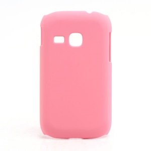 Rubberized Matte Hard Case Cover for Samsung Galaxy Young S6310 - Pink