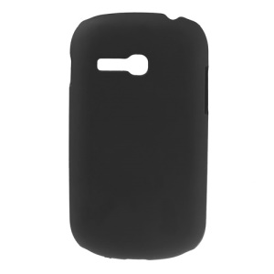 Black Oil Painting Plastic Cover for Samsung Galaxy Fame Lite S6790