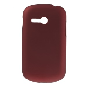 Red Oil Painting Plastic Cover for Samsung Galaxy Fame Lite S6790