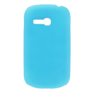 Light Blue for Samsung S6790 Galaxy Fame Lite Oil Painting Hard Case