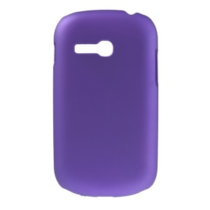 Purple for Samsung S6790 Galaxy Fame Lite Oil Painting Hard Shell