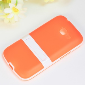 Matte TPU + PC Protective Case for Samsung Galaxy Star Pro S7260 S7262 - Orange