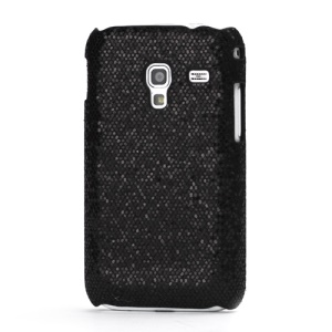 Glittery Paillette Hard Back Case for Samsung Galaxy Ace Plus S7500