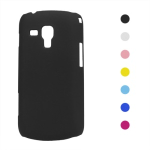Rubberized Hard Plastic Case for Samsung Galaxy S Duos S7562 S7560 S7560M S7582 S7580