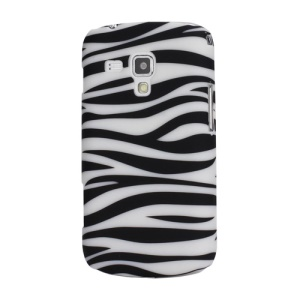 Zebra Matte Hard Plastic Case for Samsung Galaxy S Duos S7562