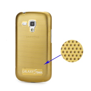 Premium Slim Metal Mesh Hard Case for Samsung Galaxy S Duos S7562