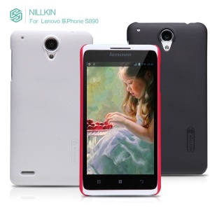 NILLKIN Super Matte Shield Hard Plastic Case + Guard Film for Lenovo LePhone S890