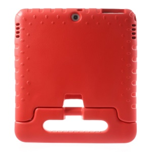 Protective Kids Thick EVA Foam Handle Stand Case for Samsung Galaxy Tab 4 10.1 T530 T531 T535 - Red