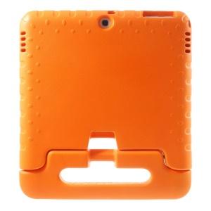 Lightweight Kids EVA Foam Handle Stand Cover for Samsung Galaxy Tab 4 10.1 T530 T531 T535 - Orange