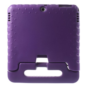 Handle Stand Kids EVA Foam Protective Case for Samsung Galaxy Tab 4 10.1 T530 T531 T535 - Purple
