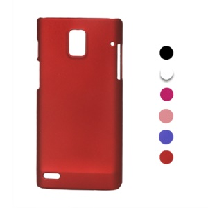 Rubberized Frosted Hard Case for Huawei U9200 Ascend P1