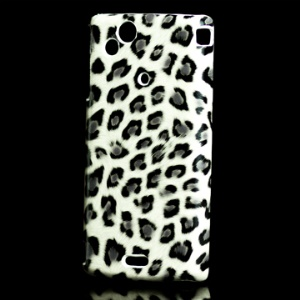 Fashionable Leopard Grain Hard Plastic Case for Sony Ericsson X12/Anzu/ XPERIA Arc/Arc S LT18i