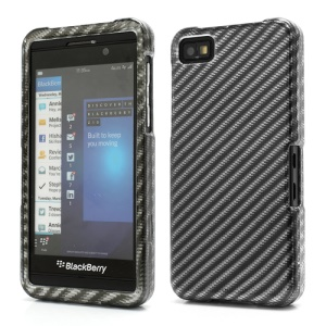Gloosy Twill Grain Snap-On Hard Plastic Cover Case for BlackBerry Z10 BB 10