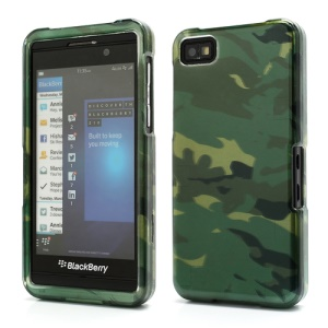 Camouflage Snap-On Combo Hard Case Shell for BlackBerry Z10 BB 10