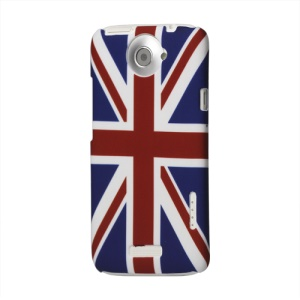 Union Jack Flag Hard Cover for HTC One X S720e / One XL / One X Plus