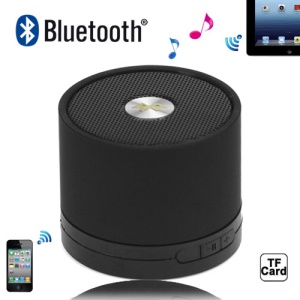A102 Portable Hi-Fi Multimedia Bluetooth Speaker for iPad iPhone iPod Android Windows Smartphone - Black