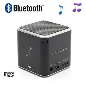 JH-MD06BT Music Angel Portable Stereo Bluetooth Speaker TF Card for iPhone iPod Smartphone - Black