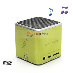 JH-MD06BT Music Angel Portable Stereo Bluetooth Speaker TF Card for iPhone iPod Smartphone - Green