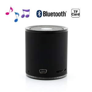 Portable Mini Wireless Bluetooth Stereo Speaker for iPhone Samsung HTC LG - Black