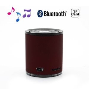 Portable Mini Wireless Bluetooth Stereo Speaker for iPhone Samsung HTC LG - Red
