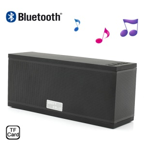 EWA D501 Wireless Bluetooth Handsfree Intelligent Voice Speaker w/ Microphone & TF Card Slot - Black