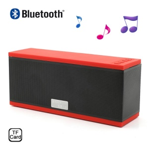 EWA D501 Wireless Bluetooth Handsfree Intelligent Voice Speaker w/ Microphone & TF Card Slot - Red
