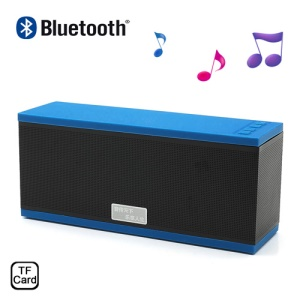EWA D501 Wireless Bluetooth Handsfree Intelligent Voice Speaker w/ Microphone & TF Card Slot - Blue